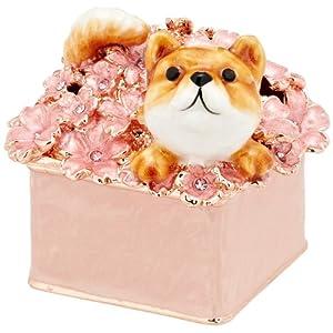 [ピィアース] PIEARTH ジュエリーボックス 柴犬のふくEX510-1