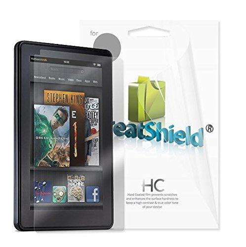 GreatShield 【Kindle Fire専用スクリーンプロテクターフィルム】 クリスタルクリアハードコーティング 3パック GS70173 (Kindle Fire HDには対応しておりません)