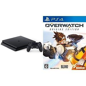 PlayStation 4 ジェット・ブラック 500GB(CUH-2000AB01) + オーバーウォッチ オリジンズ・エディション