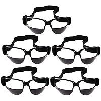 Baoblaze PC材料 バスケットボール 練習用 フィット感 ドリブル 眼鏡 援助 ゴーグル 全2色選べ