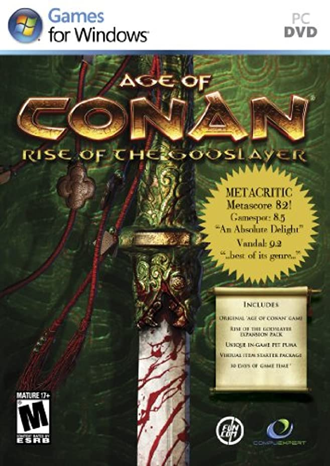 空港初期着実にAge of Conan: Rise of the Godslayer (輸入版)