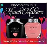 Cuccio MatchMakers Veneer & Lacquer - All Decked Out - 0.43oz / 13ml Each
