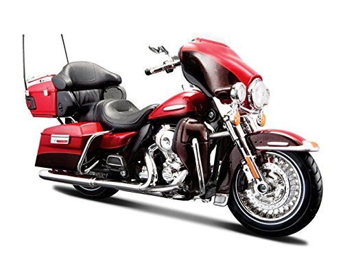 マイスト Maisto 1/12 ハーレー ダビッドソンHarley Davidson 2013 FLHTK Electra Glide オートバイ Motorcycle バイク Bike Model 32323 エレクトラグライド レッド 並行輸入品