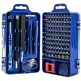 Screwdriver Set,110 in 1 Precision Screwdriver Repair Tool Kit,Magnetic Driver Kit Professional Repair Tool Kit for iPhone X,