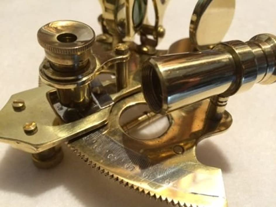 突っ込むストレッチ嬉しいですNautical真鍮六分儀~ Noボックス~ Sextent Astrolabe