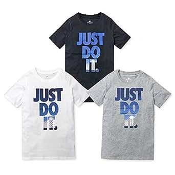 (ブラック/160cm)子供服 男の子 Tシャツ 半袖 NIKE ナイキ グラフィックロゴ プリント 男児 ジュニア