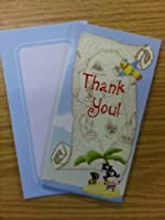 16 x Pirate Boys Thank You Cards Ideal for Birthday by The Home Fusion Company [並行輸入品]