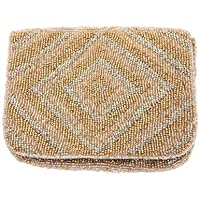 From St Xavier Women's Wyatt Coin Purses & Pouches, Gold, OneSize