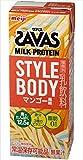 【ケース販売】明治 ザバス(SAVAS) ミルクプロテイン STYLE BODY マンゴー風味 200ml×24本入
