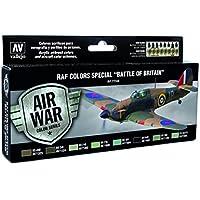 [バジェホ]Vallejo RAF Colors Special Battle of Britain 'Air War Color Series' Model Paint Kit, contains 8 x 17ml [並行輸入品]