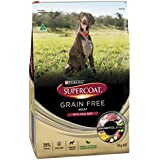 Supercoat Grain Free Beef Dog Food 15kg, Medium