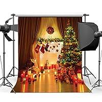 sjoloon 10x 10ftクリスマスギフトビニール写真バックドロップカスタマイズ写真背景Studio Prop jlt10271