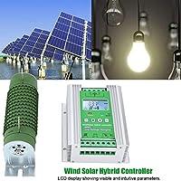 自動風ソーラー、ブーストMPPT風ソーラーハイブリッドコントローラー自動LCDディスプレイダンプロード(#1)