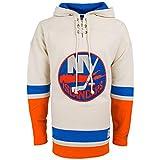 新しいYork IslandersヴィンテージHeavyweight Jersey Lacer Hoodie M
