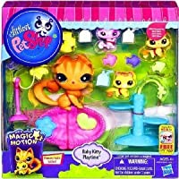 Littlest Pet Shop (リトルペットショップ) Magic Motion Baby Kitty Playtime Playset(並行輸入)