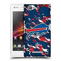 オフィシャル NFL カモフラージュ バッファロー・ビルズ ロゴ ハードバックケース Sony Xperia M / M Dual