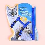 Etbotu Pet Cat Dog Nylon I-Shape Chest Leash Traction Belt Pet Harness Straps