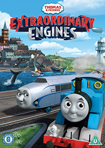 Thomas & Friends - Extraordinary Engines / きかんしゃトーマスとなかまたち「とくべつなエンジン」≪英語のみ≫ [PAL-UK]