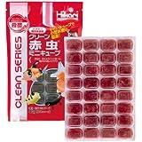 クリーン赤虫 ミニキューブ 40g 1枚 冷凍飼料 キョーリン エサ スリーステップ殺菌・ビタミン含有冷凍フード おすすめ