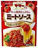 マ・マー トマトの果肉たっぷりのミートソース 260g×6個