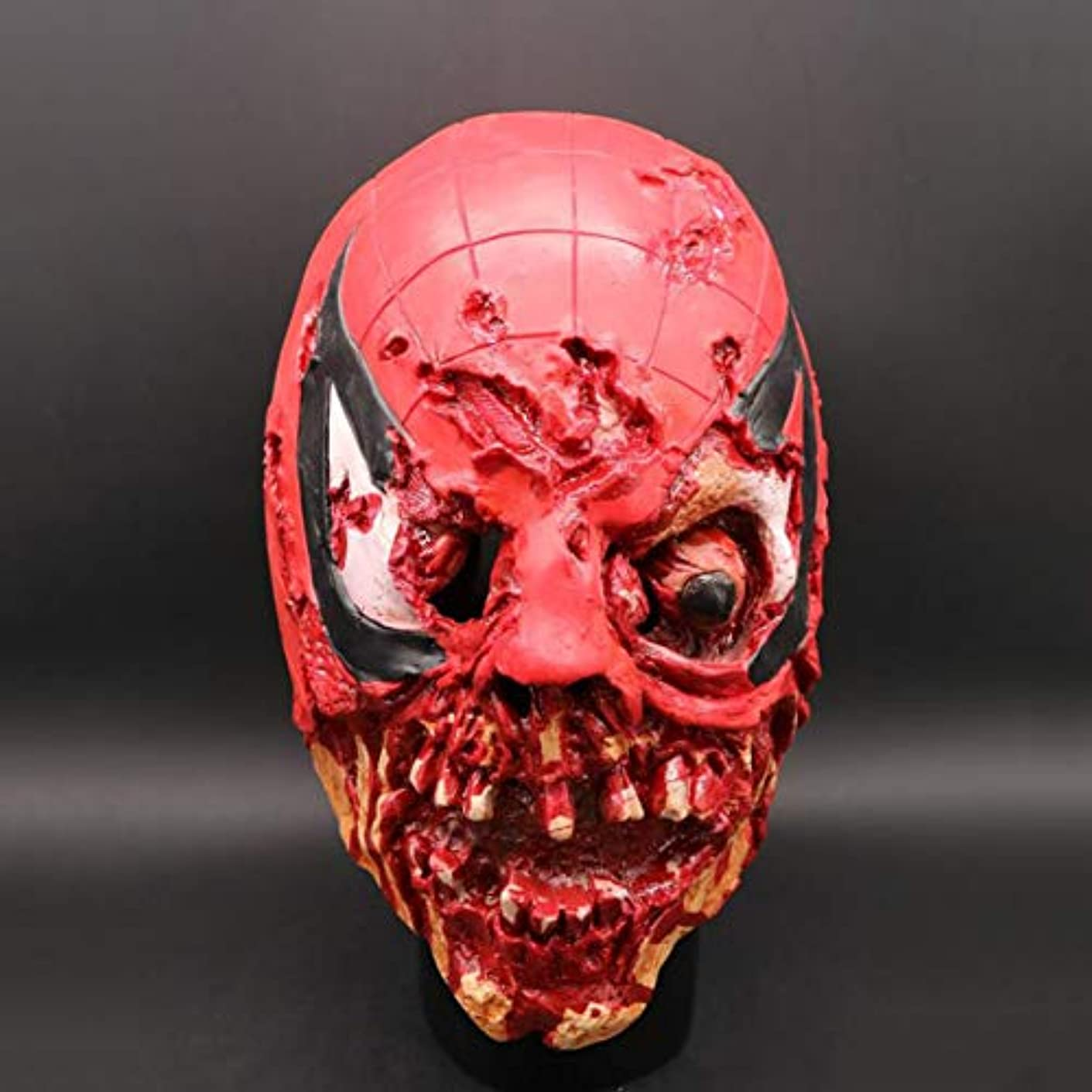 超高層ビルガソリン分泌するハロウィーンホラーマスク、スカルプラズマフードマスク、V クリエイティブ面白いヘッドマスク、ラテックス Vizard マスク、コスチュームプロップトカゲマスク