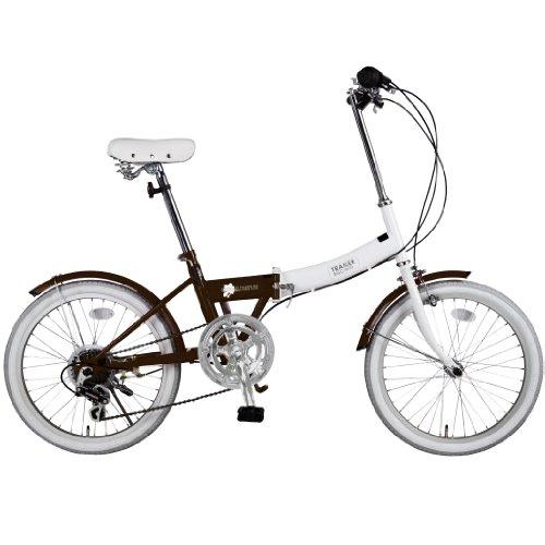 TRAILER(トレイラー) 20インチカラフル折りたたみ 自転車6段変速 BGC-N10