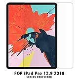 NUPO iPad Pro 12.9 インチ 2018 ガラスフィルム 2.5D 硬度9H 飛散防止 指紋防止 高感度タッチ 極高透過率 旭硝子製 耐衝撃 iPad Pro 12.9 2018 強化ガラス液晶保護フィルム (1枚入)