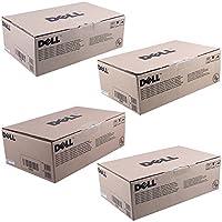 Dell Y924J, C815K, D593K, F479K Standard Yield Toner Cartridge Set by Dell