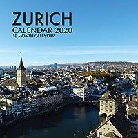 Zurich Calendar 2020: 16 Month Calendar