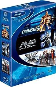 ブルーレイディスク スターターBOX ファンタスティック・フォー[超能力ユニット]/X-MEN:ファイナル ディシジョン/エイリアンVS.プレデター [Blu-ray]