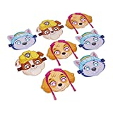 American Greetings Paw Patrol Pink Dinner Plates Paper, 40-Count, Lunch Plates