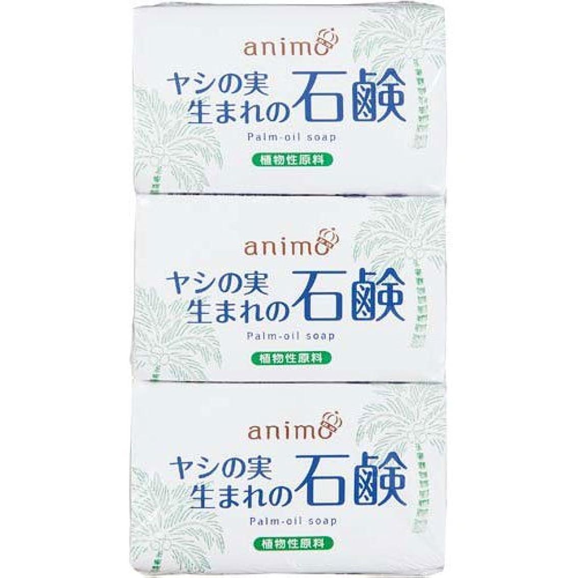 指紋エアコン忠実ロケット石鹸 ヤシの実石鹸 80g×3個×5パック
