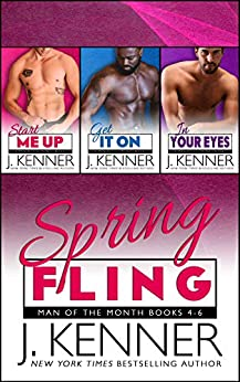 Spring Fling (Calendar Guys Book 2) by [Kenner, J., Kenner, Julie]