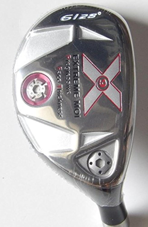 ハイブリッドRight Handed # 6 28度グラファイトシャフト新しいメンズゴルフクラブSenior Flex withヘッドカバー