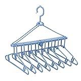 レック 折りたたみ 8連ハンガー ( 洗濯ハンガー )