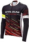 (パールイズミ) PEARL IZUMI(パールイズミ) 623BL サイクルジャージ プリント ロングスリーブ ジャージ[メンズ] 623BL 39 レッドスプリント M
