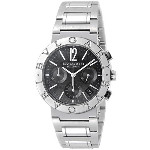 [ブルガリ]BVLGARI 腕時計 BB38BSSDCH ブルガリブルガリ クロノグラフ ブラック メンズ [並行輸入品]