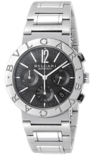 [ブルガリ]BVLGARI 腕時計 BB38BSSDCH ブルガリブルガリ クロノグラフ ブラック ...
