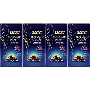 [訳あり(賞味期限 2018年10月19日)] UCC スペシャルブレンド VP 250g×4個