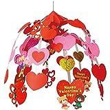 なかよしベアー バレンタイン 2段 センターハンガー 集客 ディスプレイ 吊り装飾 店