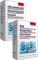 Kombi-Paket BGB Buergerliches Recht + HGB, GmbHG, AktG, Wirtschaftsgesetze kompakt