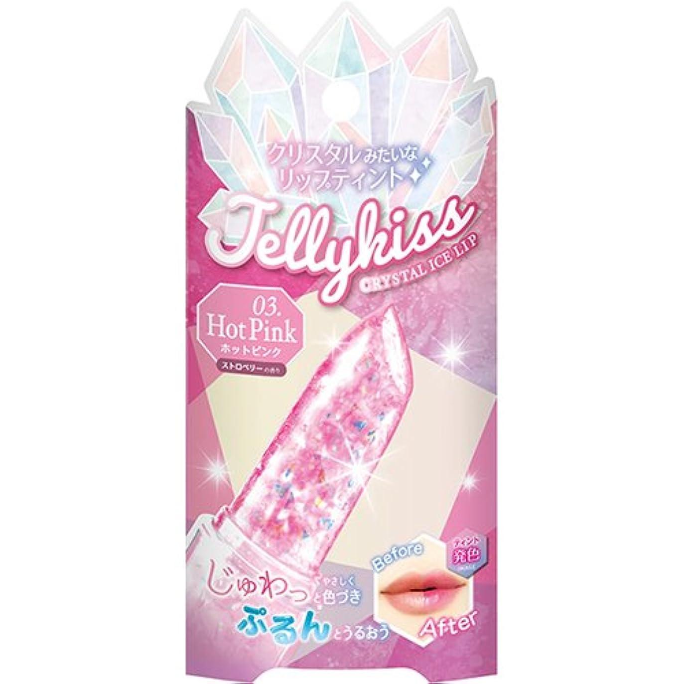 摂氏度豆腐インシュレータジェリキス クリスタルアイスリップ 03 ホットピンク