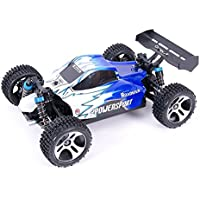 DAZHONG RC車高速32MPH高速レーストラック1:18スケールRTRレーシング4WD電力ラジオ子供用ロードトラックオフリモートコントロール