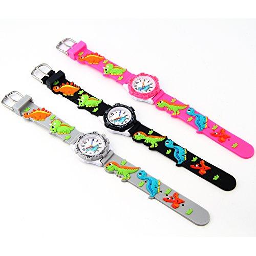 Macoon 腕時計 ボーイズ (ブラック) [並行輸入品]