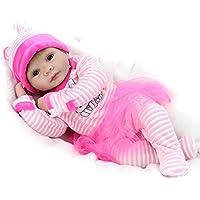 Rebornシリコン赤ちゃん人形男の子女の子おもちゃLifelike新生児赤ちゃんキッズ用