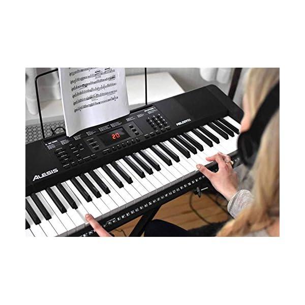 Alesis 電子キーボード 61鍵盤 初心者...の紹介画像8