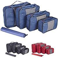NewNomad Premium Set of 4 Packing Cubes with Bonus Laundry Bag