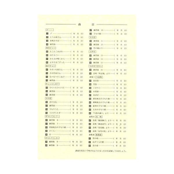 SUZUKI スズキ 篠笛の本の紹介画像2