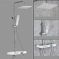 ウォールマウントシャワーシステムシャワーセットと8インチシャワーヘッドハンドヘルドシャワーそして浴槽スパウト蛇口,3082