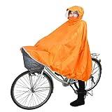 コヤナギ 自転車用 レインポンチョ ちゃりポン オレンジ M